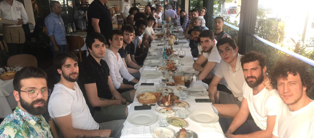 Galatasaray Doğa Sigorta sezon sonu yemeğinde bir araya geldi
