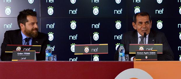 Galatasaray ile Nef'ten Dev İşbirliği