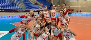 U17 Kız Milli Takımımız, Avrupa Şampiyonası'nda Namağlup Finalde