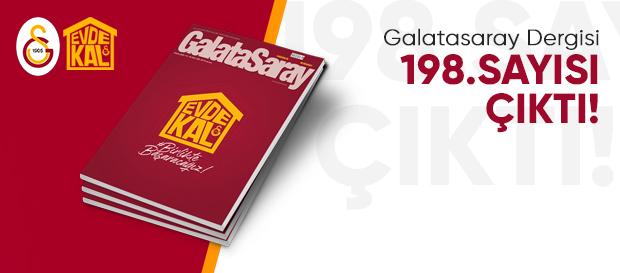 Galatasaray Dergisi 198. sayısı çıktı