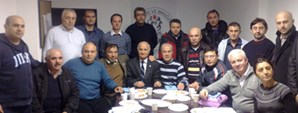 Futbol Masörler Dernek Başkanı Erkan Kazancı Oldu