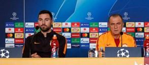 Teknik Direktörümüz Fatih Terim ve Sinan Gümüş'ten FC Schalke 04 maçı öncesi açıklamalar
