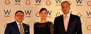 Galatasaray ile W Collection Sponsorluk Anlaşması İmzaladı