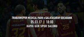Maça doğru | Trabzonspor Medical Park – Galatasaray Odeabank