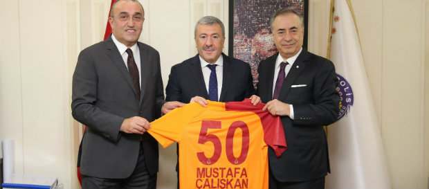Başkanımız Mustafa Cengiz'den Mustafa Çalışkan'a ziyaret