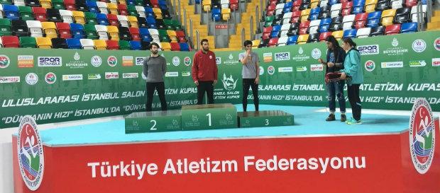 Hüseyin Alper Gürses U23 Türkiye Şampiyonu