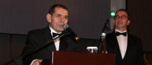 Başkan Dursun Özbek GSYİAD'ın Balosunda Açıklamalarda Bulundu