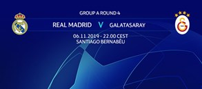 Matchday #4 | Real Madrid - Galatasaray
