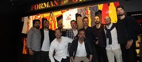 Eski sporcularımız Galatasaray Stadyum Müzesi'nde ağırlandı
