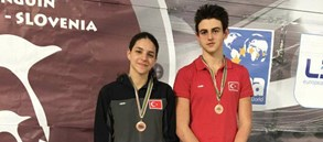 International Swimming Meet Penguin Cup'ta dereceler