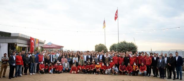 Galatasaray Su Sporları Buluşması, Kalamış Tesislerimizde gerçekleştirildi