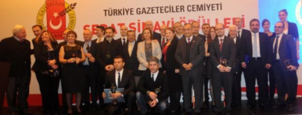 Galatasaray Odeabank TGC Sedat Simavi Spor Ödülünü Törenle Aldı