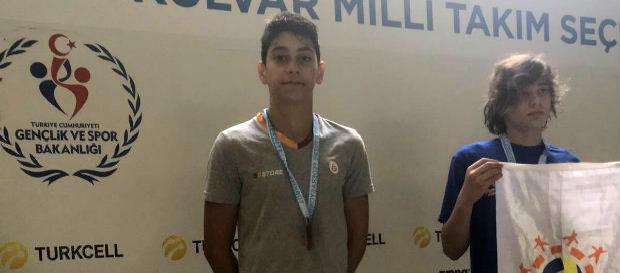 Türkiye Bireysel Yüzme Şampiyonası'nda 1. gün sonuçları