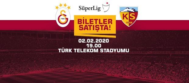 Hes Kablo Kayserispor maçı biletleri satışta