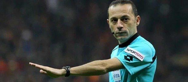 Kayserispor maçını Cüneyt Çakır yönetecek