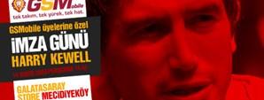 Harry Kewell'dan GSMobile'a Özel İmza Günü