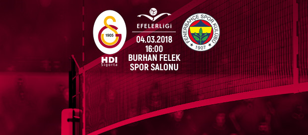 Maça doğru | Galatasaray HDI Sigorta - Fenerbahçe