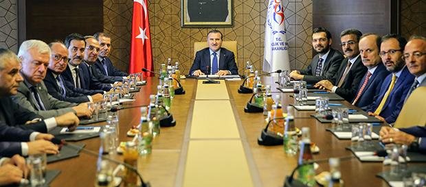 Kulüpler Birliği Vakfı'ndan Ankara'ya ziyaret