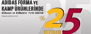 GS Store Adidas Ürünlerinde Yüzde 25 Yaz İndirimi