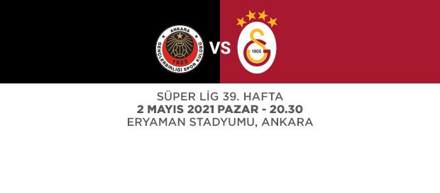 Maça Doğru   Gençlerbirliği - Galatasaray