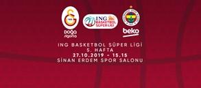 Maça doğru | Galatasaray Doğa Sigorta - Fenerbahçe Beko