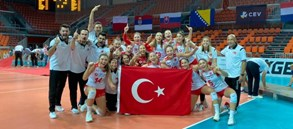 U19 Genç Kız Milli Takımımız Avrupa Şampiyonu