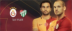 Galatasaray'ın TFF Süper Kupa İlk 11'i Belli Oldu