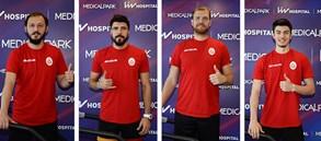Galatasaray HDI Sigorta Erkek Voleybol Takımımız sağlık kontrolünden geçti
