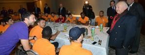 Başkan Duygun Yarsuvat'tan Futbol Takımımıza Ziyaret