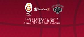 Maça Doğru | Galatasaray Doğa Sigorta - Dolomiti Energia Trento