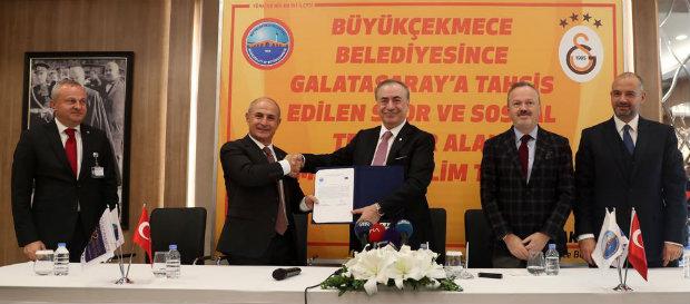 Yeni Spor ve Sosyal Tesis Alanının İmza Töreni gerçekleşti