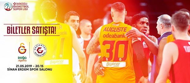 Gaziantep Basketbol maçı biletleri satışta