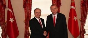 Başkanımız Mustafa Cengiz'den Cumhurbaşkanımız Sayın Recep Tayyip Erdoğan'a ziyaret