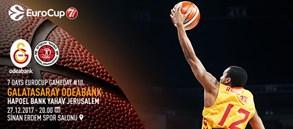 Maça doğru | Galatasaray Odeabank – Hapoel Bank Yahav Jerusalem
