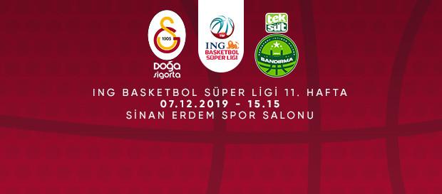Maça Doğru | Galatasaray Doğa Sigorta - Teksüt Bandırma