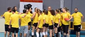Kadın Voleybol Takımımız yeni sezon hazırlıklarını sürdürüyor