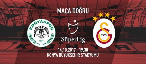 Maça doğru | Atiker Konyaspor - Galatasaray