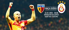 Maça doğru | Kayserispor – Galatasaray