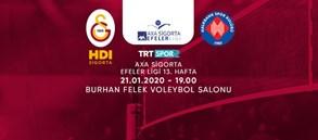 Maça doğru | Galatasaray HDI Sigorta - Halkbank