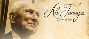 Ali Tanrıyar'ı saygıyla anıyoruz