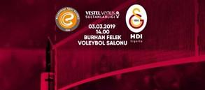 Maça doğru | Eczacıbaşı Vitra - Galatasaray HDI Sigorta