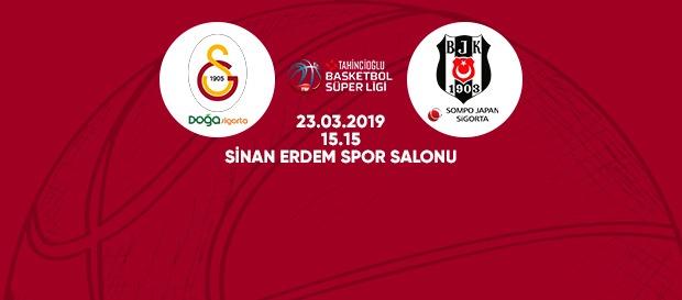 Maça doğru | Galatasaray Doğa Sigorta – Beşiktaş Sompo Japan