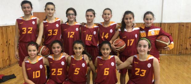 U12 kız | Galatasaray 58–19 Sistem Gençlik