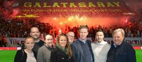 Martin Linnes Galatasaray Müzesi'ni ziyaret etti