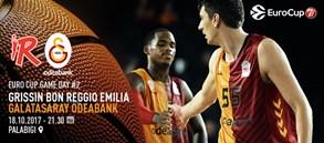 Maça doğru | Grissin Bon Reggio Emilia – Galatasaray Odeabank