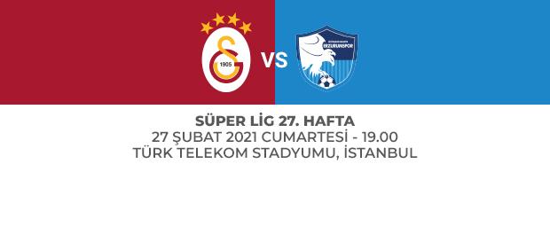 Maça Doğru | Galatasaray - Büyükşehir Belediye Erzurumspor