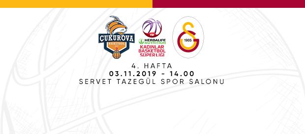 Maça Doğru | Gelecek Koleji Çukurova Basketbol – Galatasaray
