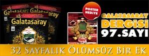 Galatasaray Dergisi 97. Sayısı Bayilerde
