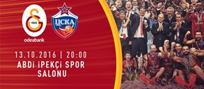 Maça Doğru | Galatasaray Odeabank – CSKA Moskova