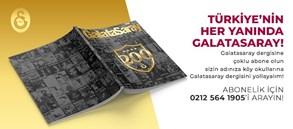 Türkiye, Galatasaray Dergisi'ni okusun